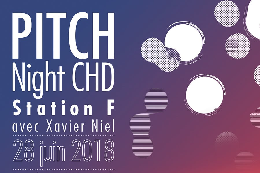 Affiche Pitch night CHD - HEC 2018